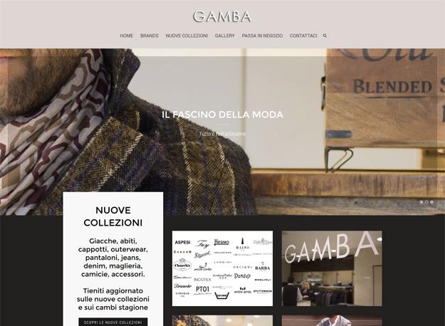 sito web abbigliamento