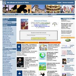 sito web ente pubblico Thiene