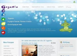 Sito web a Creazzo dell'Associazione Yogamio