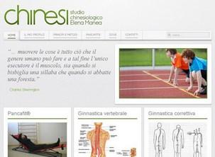 Sito web Malo Studio Chinesiologico Elena Manea