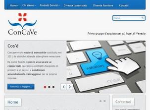 Sito internet del Consorzio Concave di Venezia