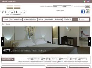 Creazione sito Vicenza: Hotel Vergilius