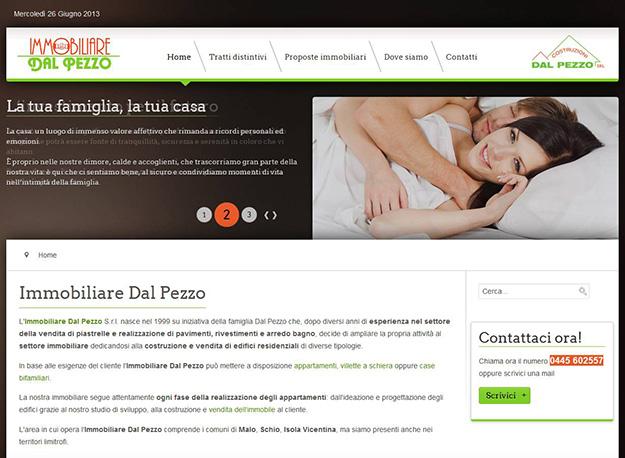 Sito web immobiliare: acquisto e vendita di case e appartamenti a Malo (Vicenza)