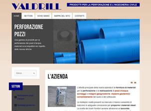 Sito web a Valdagno per l'azienda Valdrill