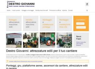 Sito web per attrezzature edili a Verona