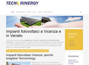 Tecnorinergy: sito web energia Vicenza