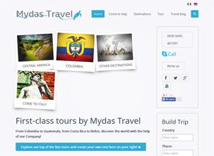 Mydas Travel: sito web agenzia viaggi Vicenza