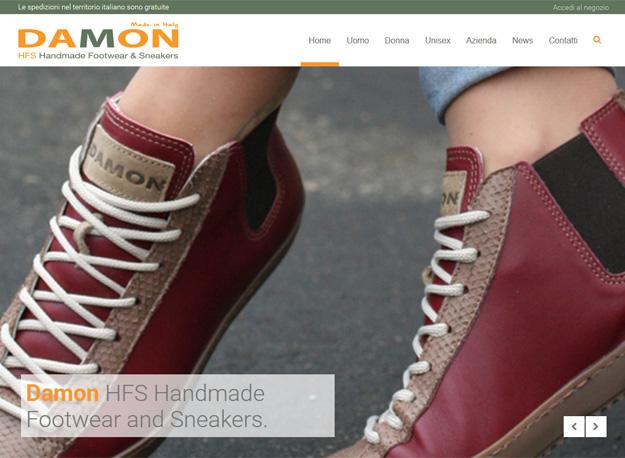 Damon HFS: sito di vendita on-line di calzature di alta qualità