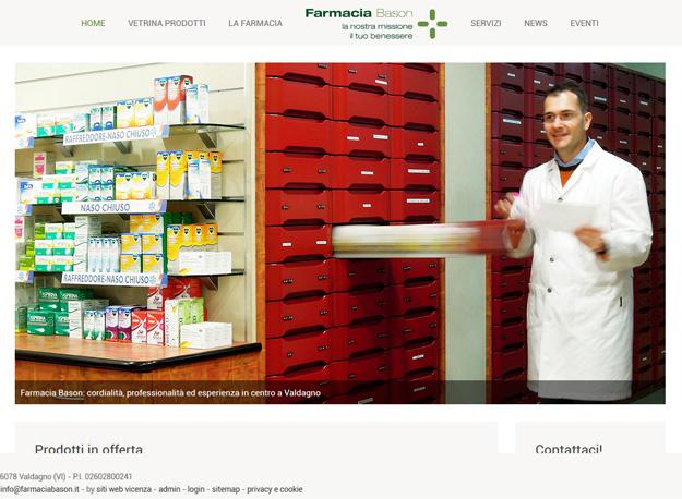 sito web farmacia
