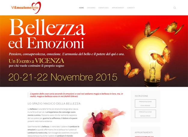 """Il Festival della Bellezza: il sito web dell'evento """"Bellezza ed Emozioni"""" a Vicenza"""