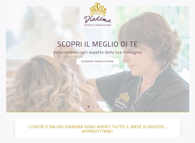 Sito web Diadema Estetica Parrucchieri