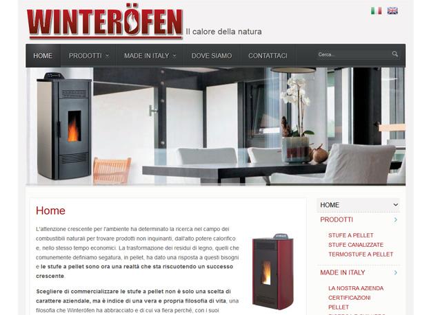Winterofen: sito web stufe Vicenza